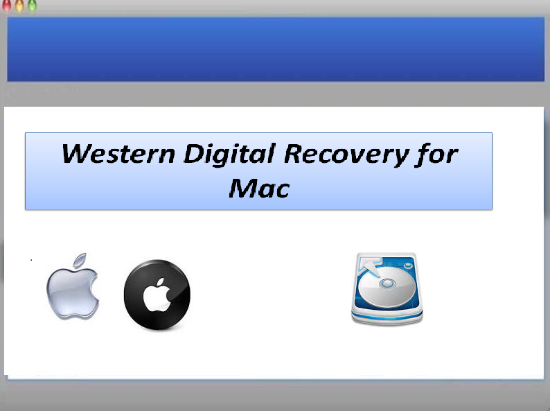 Software to recover data from WD hard drive