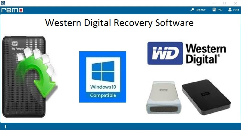 Western Digital Data Recovery full screenshot